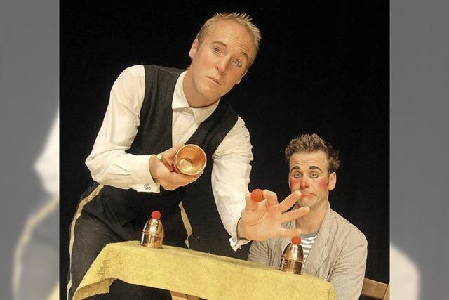 Zauberei und Jonglagen von Gilbert & Oleg