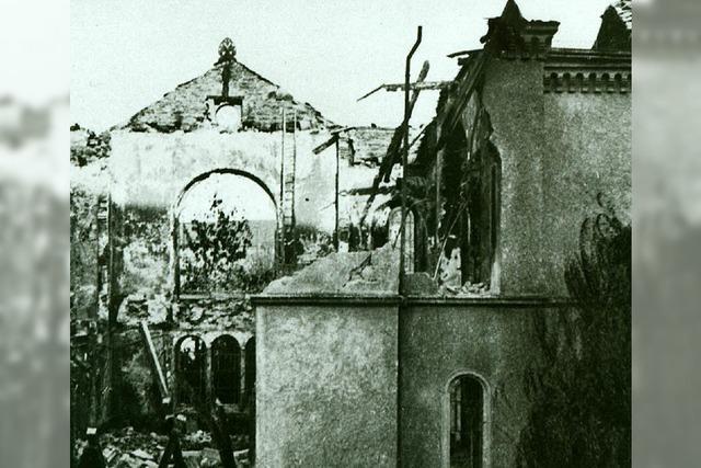 Die Brandnacht vor 75 Jahren