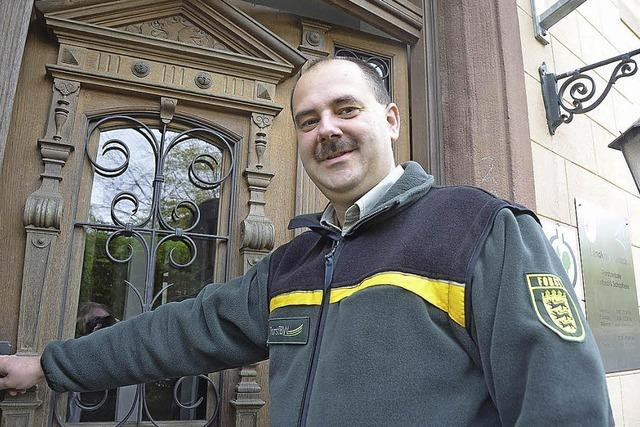 Marco Sellenmerten ist der vierte Leiter des Forstbezirks Schopfheim in fünf Jahren
