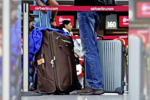 Ausgleich für verlorene Koffer und verspätete Verbindungen