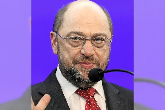 Schulz strebt an Spitze der Kommission
