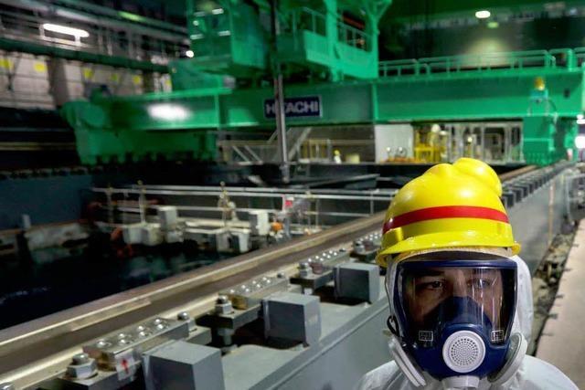 Tepco will Brennstäbe aus Fukushima-Ruine bergen