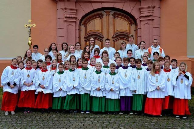120 Ministranten gibt es nun in Hohberg