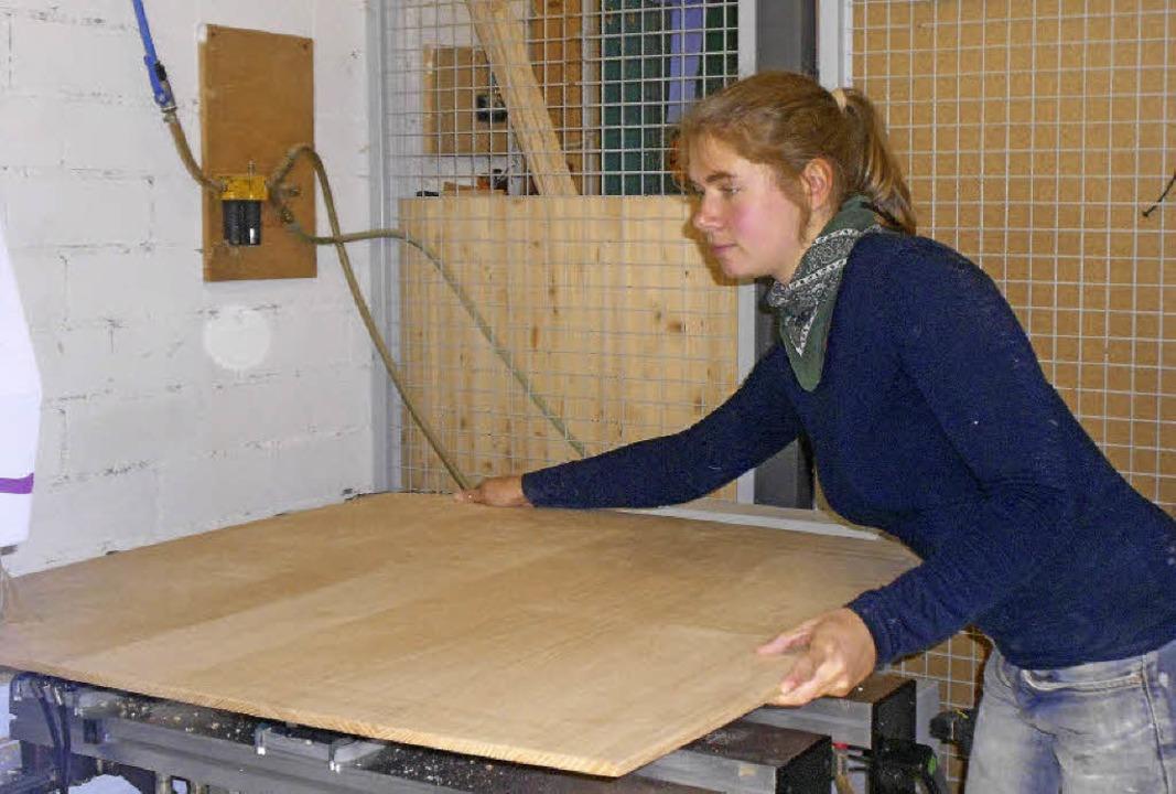 Ramona Holler ist Schreinergesellin und Innungsbeste - Bad Krozingen ...