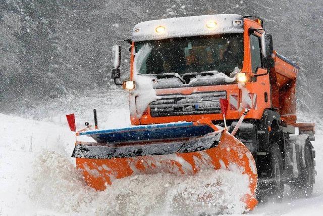 Erster Schnee: Viele Unfälle im Hochschwarzwald