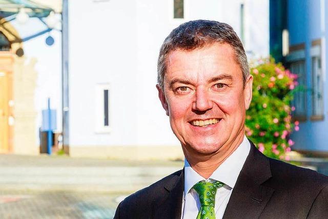 Volker Kieber ist neuer Bürgermeister von Bad Krozingen