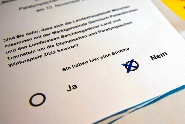 München: Bürger stimmen gegen eine Olympia-Bewerbung 2022