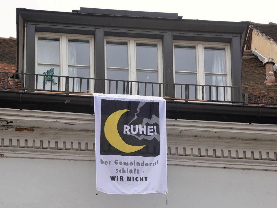 Anwohner in der Freiburger Innenstadt haben genug von dem Partylärm.  | Foto: Michael Bamberger