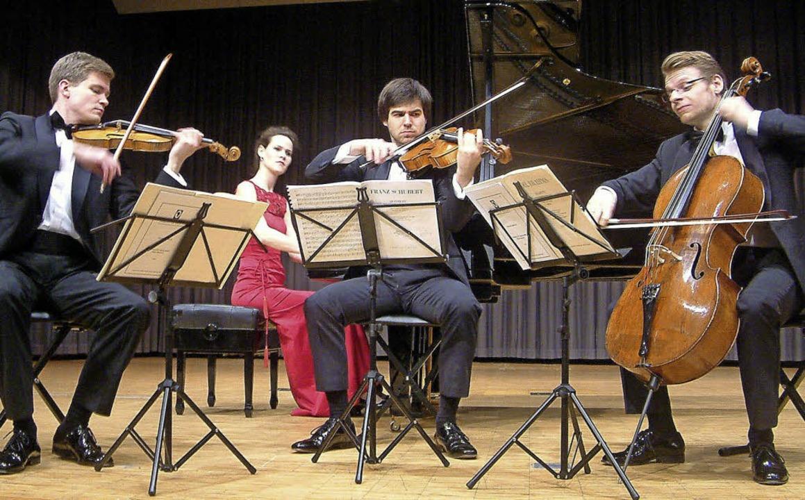 Mit Frische begeisterte das junge Noto...kinger Kammermusikabenden im Kursaal.   | Foto: Roswitha Frey