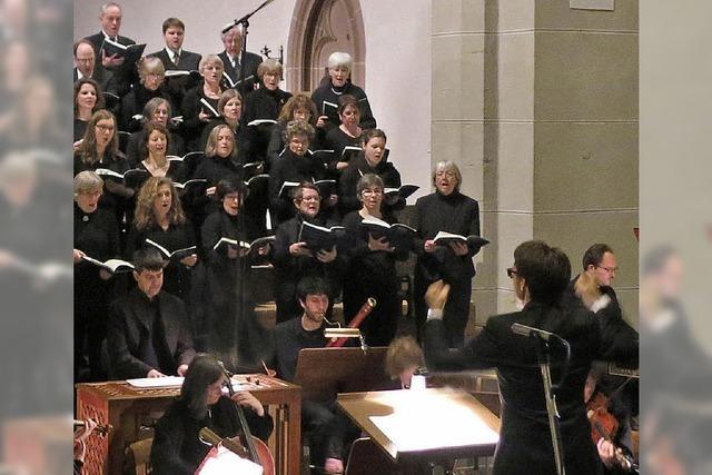 Passende Lieder: Schütz-Kantorei mit dem Brahms-Requiem