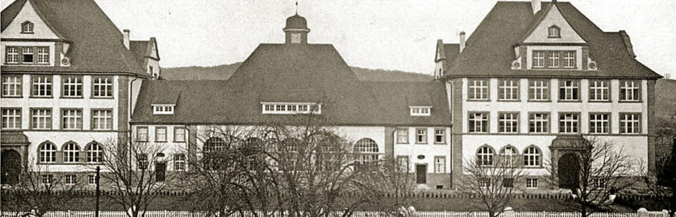Die Markgrafenschule im Jahr ihrer Einweihung 2014    Foto: Stadt Emmendingen - Fotomuseum Hirsmüller