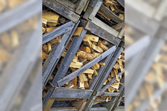 Es harzt zusehends bei der Versorgung mit günstigem Brennholz