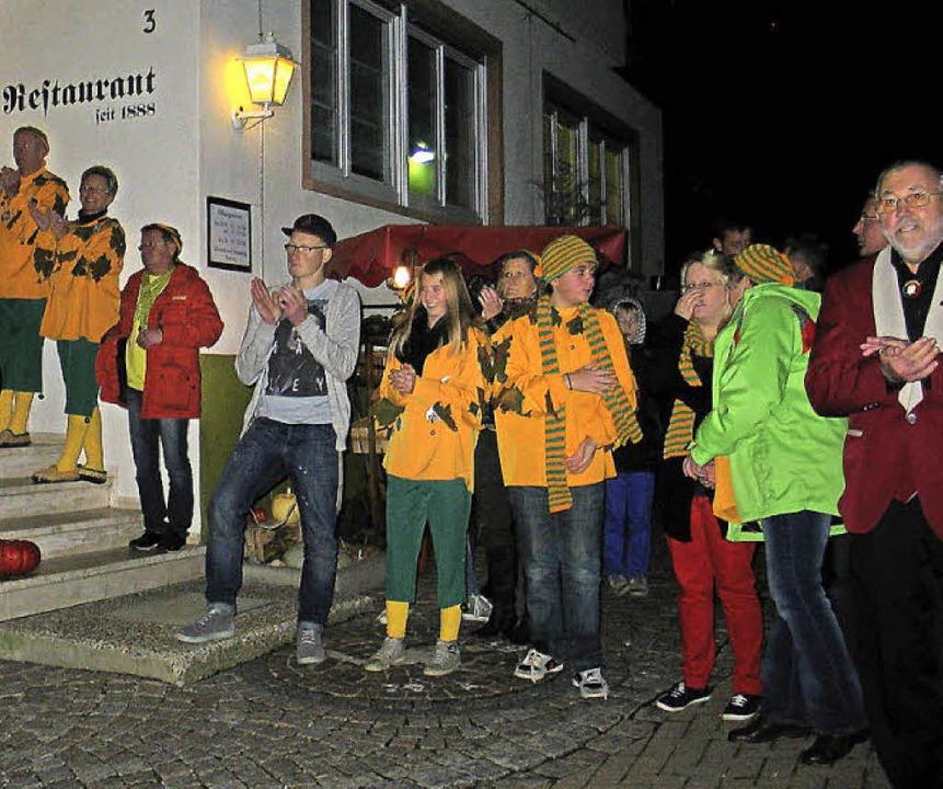 Bogdemolli Fasnachtseröffnung    Foto: Jutta Schütz