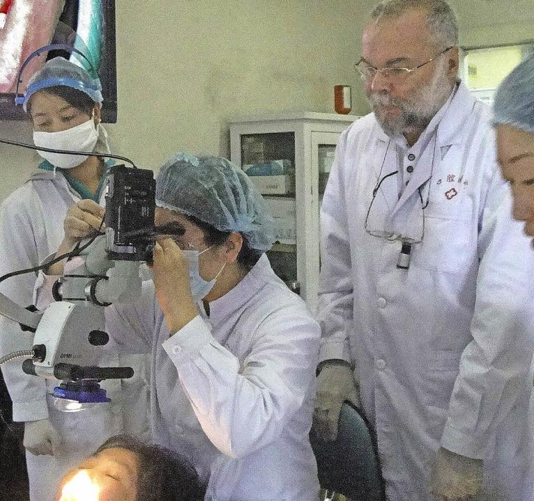 Dr. Mathias Rasch war erneut zu Gast in China.     Foto: privat