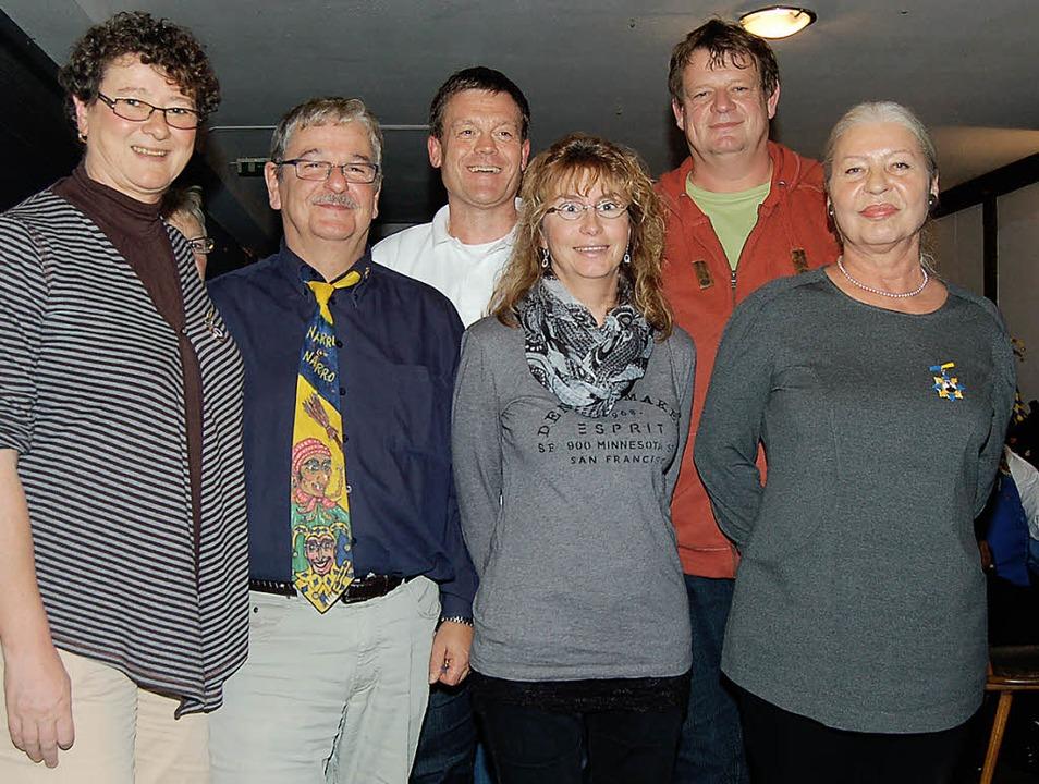 Die Geehrten: Ruth Fenselau, Martin St...amer und Veronika Berner (von links).   | Foto: Ringwald