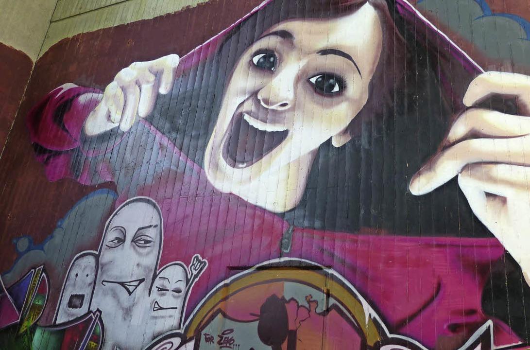 Mit Graffiti befassten die Maulburgs Freie Wähler.    Foto: ZVG