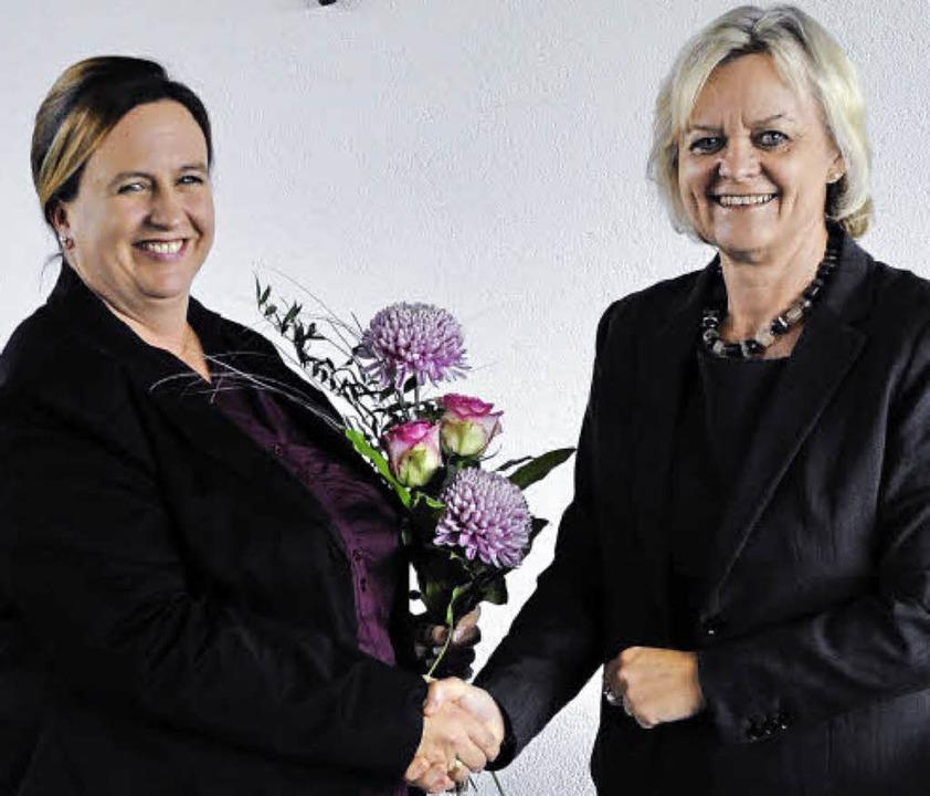 Schulamtsdirektorin Monika Blum-Thol (...n von St. Peter,  Stefanie Waldvogel.   | Foto: Franziska Löffler
