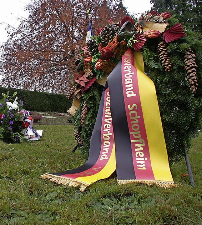 Am Sonntag, 17. November, ist Volkstrauertag.  | Foto: André Hönig