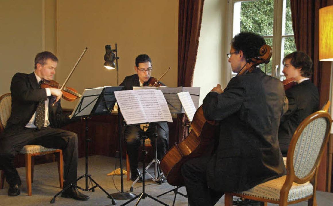 Ein hochkarätiges Konzert bot das Inte...skreises Santeramo im Trompeterschloss  | Foto: Karin Stöckl-Steinebrunner