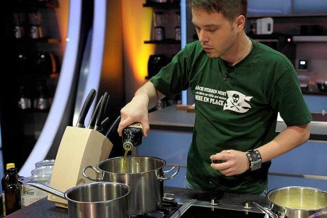 Adler-Küchenchef tritt bei Sat1-Kochshow