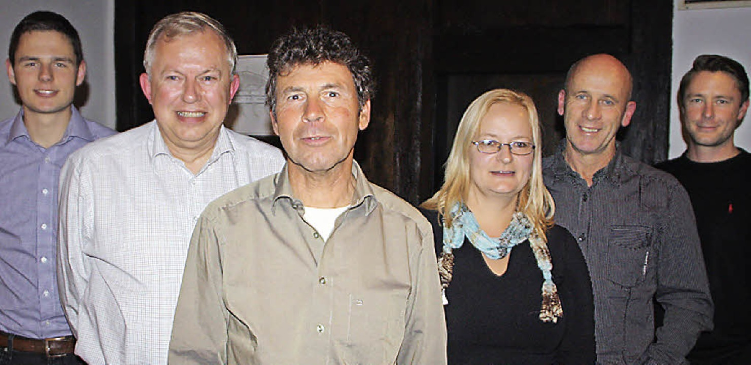 Philipp Kaiser, Konrad Witzgall, Rudol...n Vorstand des Skiclubs Wehr gewählt.   | Foto: Jörn Kerckhoff