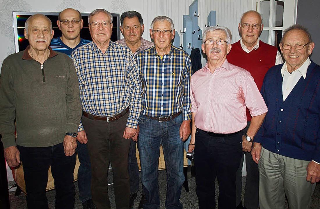 Der neue DAAVO-Vorstand, von links: Iv...rnet, Ernst Meier und Kurt Lötscher.    | Foto: Paul Schleer