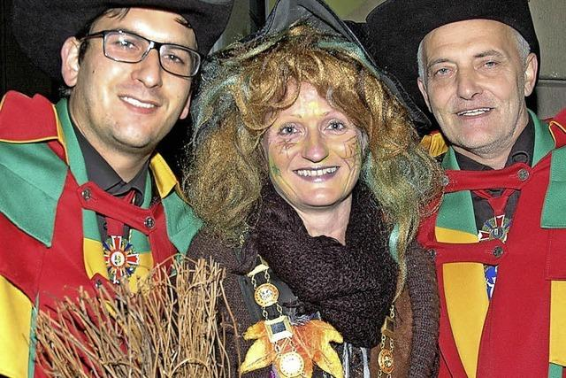 Marita Engelmann ist Narrengotte