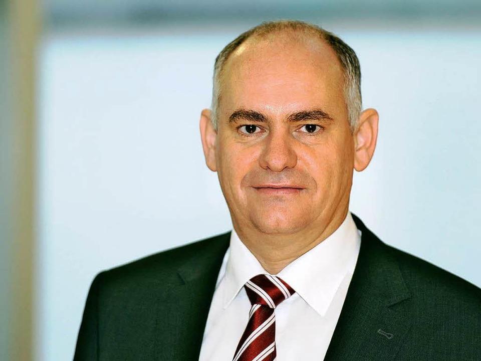 Reiner Richter komplettiert den Vorstand der Lahrer Volksbank.  | Foto: Volksbank Lahr