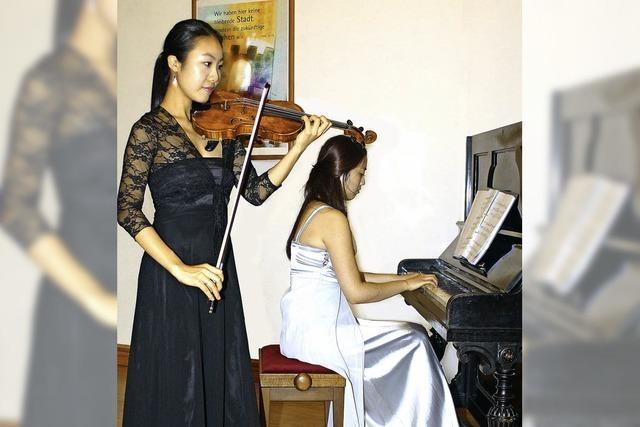 Bestleistung mit Mozart-Sonate