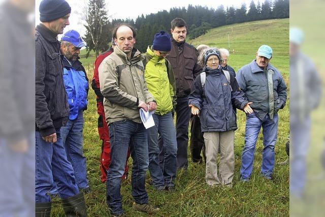 Positives Fazit nach der Geländebegehung in Gersbach