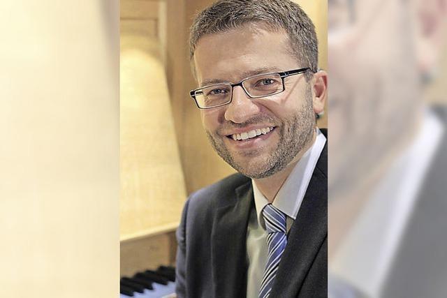 """Münsterorganist Jörg Josef Schwab: """"Die Gemeinde zum Singen animieren"""""""