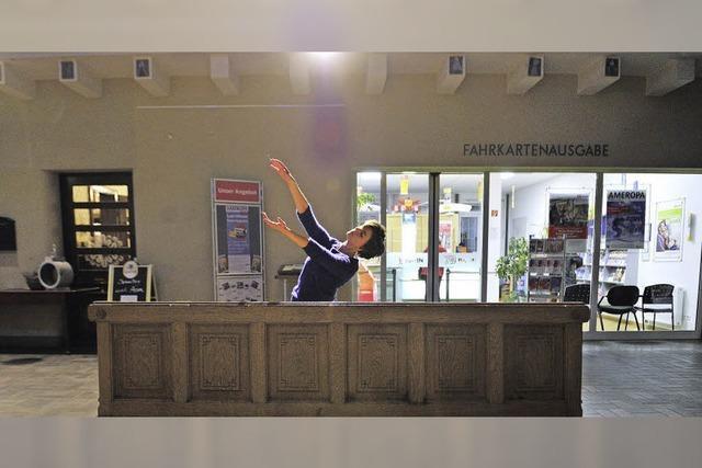 Die Freiburger Künstlergruppe Snap deluxe im Wiehrebahnhof