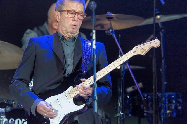 Wie war's bei... Eric Clapton in Basel?