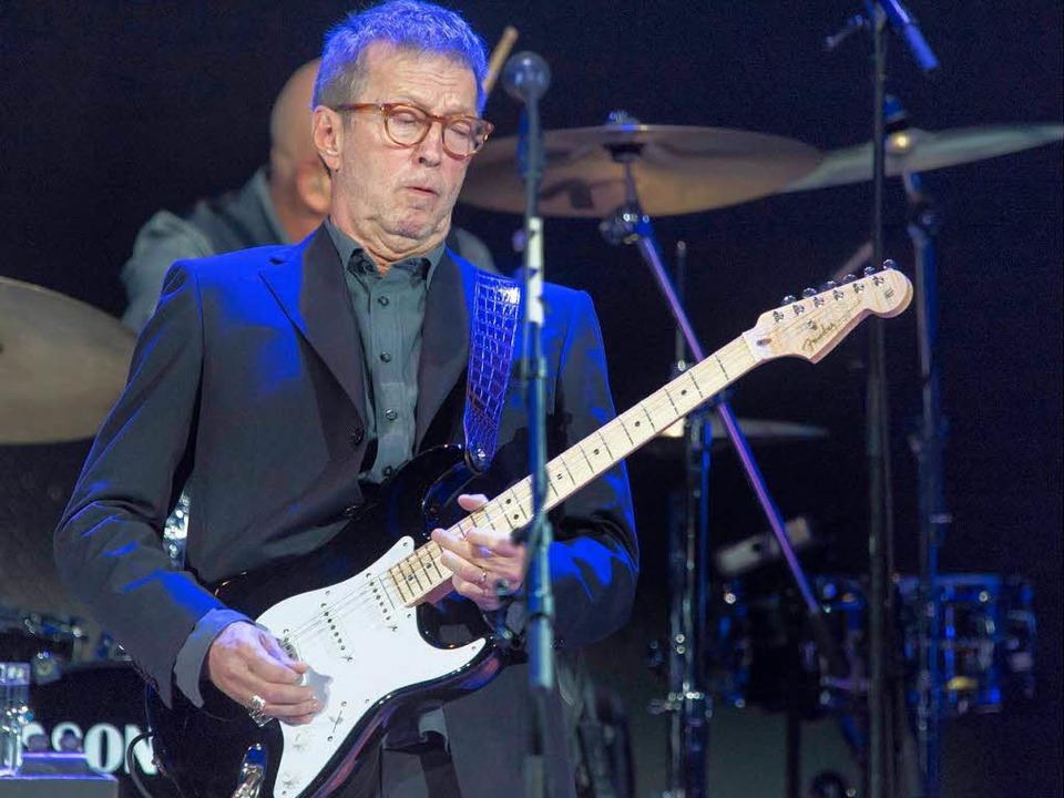 """Es ist zwei Generationen her, dass in ...en: """"Clapton Is Supergod"""".    Foto: dpa"""