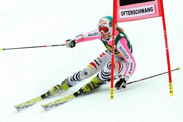 Skiläuferin aus dem Schwarzwald nimmt am Weltcup Teil