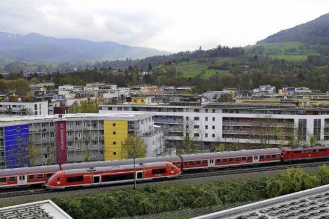 Bürgergespräch mit OB Salomon in Vauban: Bürger nervt Bahnlärm