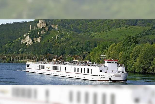 Frankreich aus der Flussperspektive