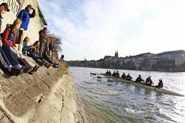 """""""Basel Head"""": 64 Boote aus acht Ländern starten beim Achterverfolgungsrennen"""