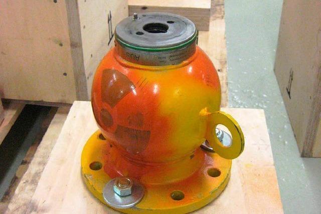 Aus der Glashütte Achern ist radioaktives Material verschwunden