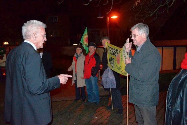 Kretschmann in Emmendingen: Im Dialog mit den Bürgern