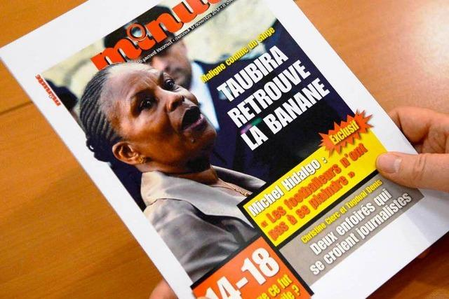 Rassistische Angriffe auf Frankreichs Justizministerin