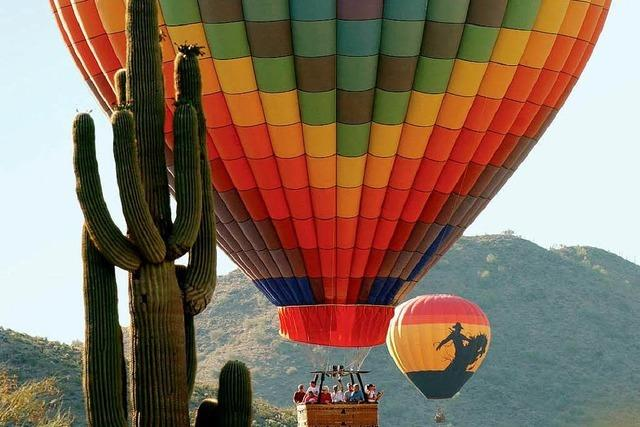 Auf Reisen in der Wüste von Arizona