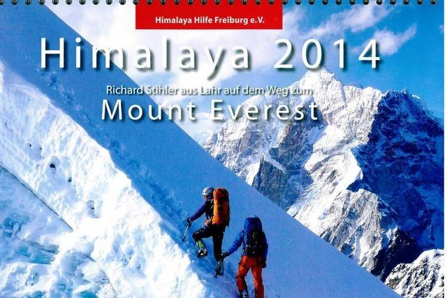 Kalender dokumentiert die Mount Everest-Besteigung eines Lahrer Bergsteigers