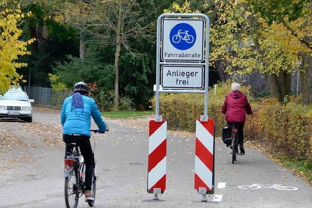 Erste Fahrradstraße für Lörrach