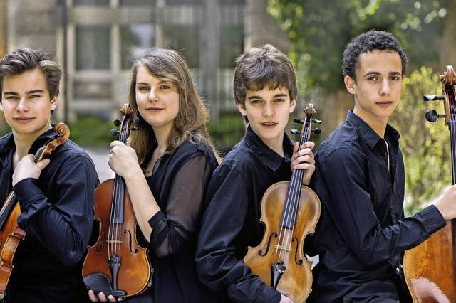 Benefizkonzert: Sereno Quartett und das Orchester Junge Sinfoniker