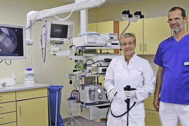 Helios-Klinik vergrößert die endoskopische Abteilung und schafft neue Geräte an