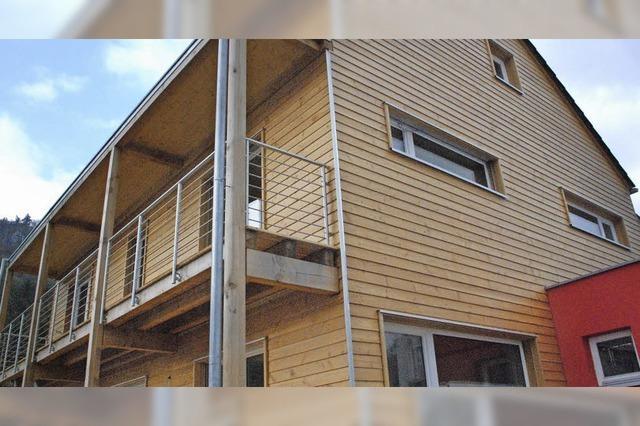 Modernes Wohnen mit Holz