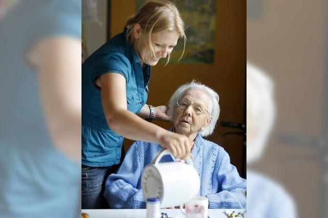 Häusliche Pflege gerät in Not