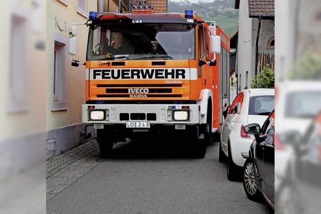 Platz für Feuerwehrautos