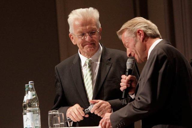 Winfried Kretschmann in Emmendingen: Die Entdeckung der Langsamkeit